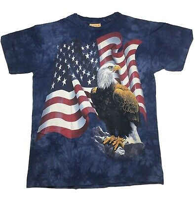 1516 American Bald Eagle Majestic Flight The Mountain T-Shirt All Sizes