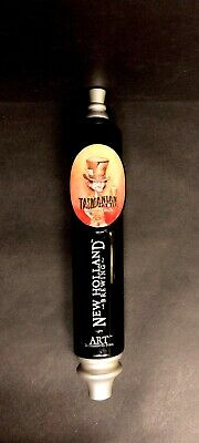 """New Holland Brewing Tasmanian Hatter Pale Ale 11"""" Beer Tap Handle Man Cave"""