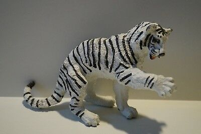 Schleich Fremdserie Vanishing Game 17052 Safari Siberian Tiger White Seated