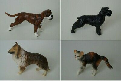 Bully Bullyland Dog Dog Cat Cat Various Animal Figures for Selection