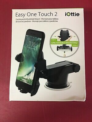 iOttie Easy One Touch 2 Universal Car Mount-Black HLCRIO121 New Free Shipping