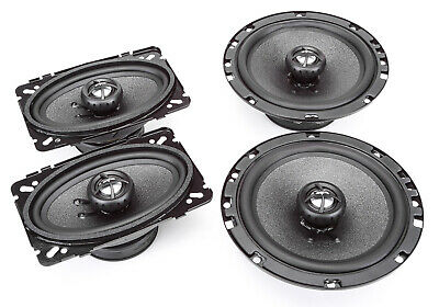 "NEW SKAR AUDIO 4/"" X 6/"" COMPLETE SPEAKER PKG FOR 88-94 CHEVY CK PICKUP FULL SIZE"
