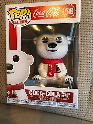 Coca-Cola Polar Bear - Ad Icons - Funko Pop Vinyl Figure