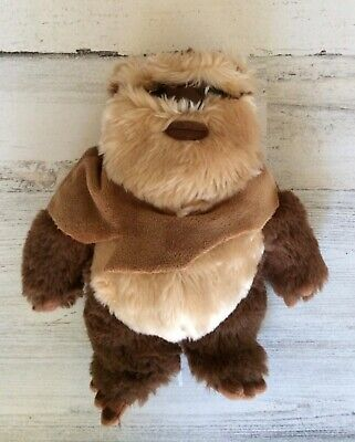 "DISNEY PARKS Authentic Original Star Wars WICKET W. WARRICK EWOK 9"" Plush TOY"