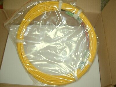 Optical Cable Corp. Single-mode LC-SCA 2C OS2 Laser Ultra-Fox Fiber Cable 15m