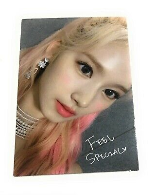 TWICE 8th Mini Album SANA Feel Special Official Photocard SANA KPOP JYP SNB