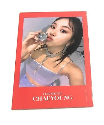 TWICE 8th Mini Album Feel Special CHAEYOUNG Official Photocard KPOP CHF