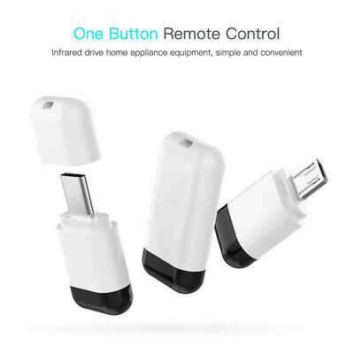 Micro USB Type-C Smart IR Mobile Phone Remote Control Wireless Infrared Adapter