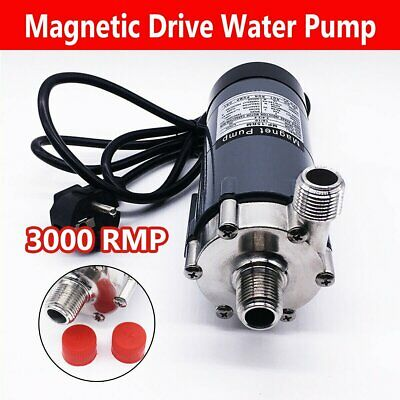 MP-15RM Food Grade Magnetic Drive Water Pump Stainless Steel Brewery Beer 220V