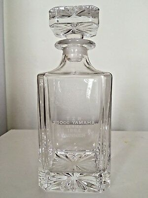 QUALITY DECANTER Cut Crystal Glass for Sherry, Port, Wine, Whisky, Brandy