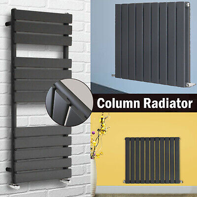 Vertical Designer Radiator Tall Upright Oval Column Panel Rad Central Heating