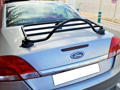 Ford Focus Coupe Cabriolet Boot | Trunk | Luggage Rack ; No Clamps = No Damage
