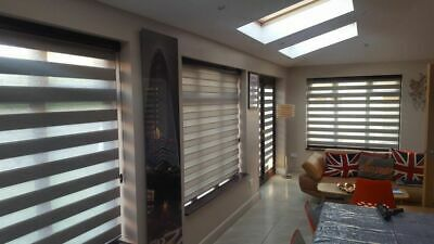 Day & Night / Zebra Blinds - Soft - UK PRODUCT - Made to measure - Quality