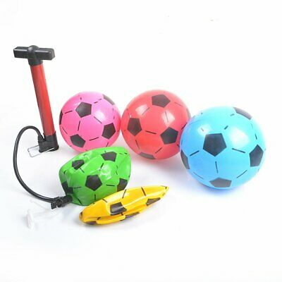 """40 Plastic Footballs 8.5""""Flat Uninflate Ball For Kids Party Pools Indoor Outdoor"""