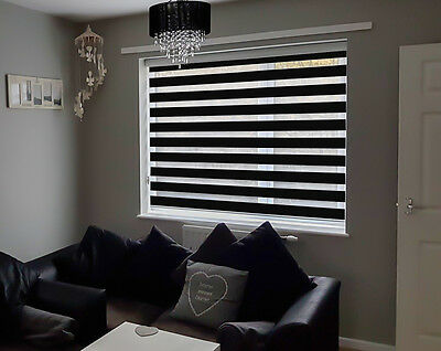 Day & Night / Zebra Blinds / Vision - Soft - UK PRODUCT - Made to measure