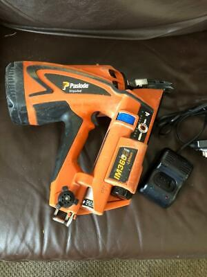 PASLODE IMPULSE IM360Ci LITHIUM 1st FIX GAS/7.4V NAIL GUN 1 x BATTERY & CHARGER