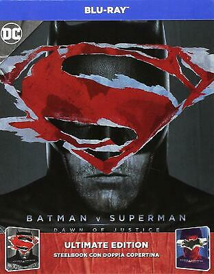 2 Blu-ray *** BATMAN VS SUPERMAN *** Steelbook Fuori Catalogo (Ultimate Edition)