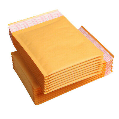 50 x Home Kraft Bubble Mailers Self Sealing Mailing Shipping Bags