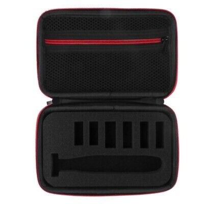 Carry Hard Case For Philips Norelco Oneblade Hydbrid Electric Trimmer(Red) L5N8