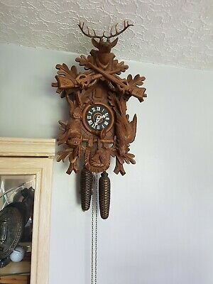 Original Black Forest Cuckoo Clock Hubert Herr