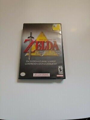 Legend of Zelda Collector's Edition (Nintendo GameCube, 2003)     FAST SHIPPING