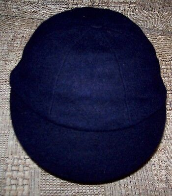 Genuine Vintage 8 Panel  Boys School Caps - Navy Blue from 6 3/8 to 7 inches