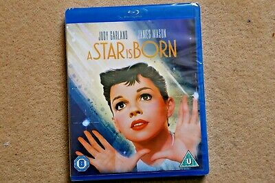 Blu-Ray   A Star Is Born  ( Judy Garland )   New Sealed Uk Stock