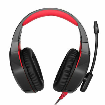 ONIKUMA K1 Stereo Bass Surround Gaming Headset for PS4 Pro Xbox One PC Mic Black