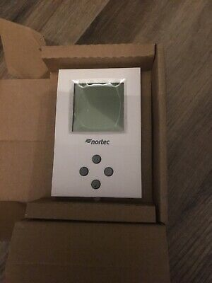 Nortec 1510142 0-10v Digital Wall Humidistat with user manual New