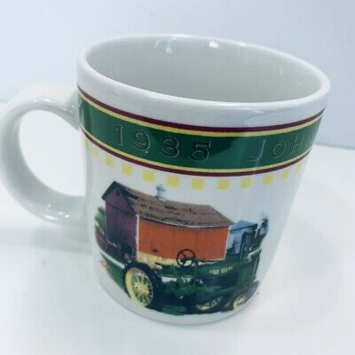 JOHN DEERE 1935 MODEL B  Gibson Coffee Mug Cup Tractor Barn Licensed Product