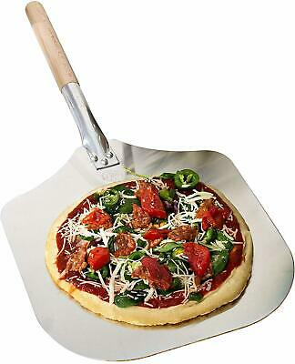 Allied Metal P1235 12 by 14-Inch Aluminum Blade Pizza Peel with 19-1//2-Inch Wooden Handle