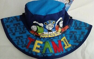 THOMAS AND FRIENDS Licensed Boy bucket brim hat blue NEW sz 50cm , 52cm