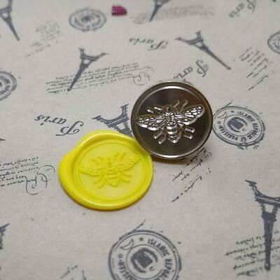 Retro Bee Wax Sealing Stamps DIY Craft Wax Seal Stamp Card Decoration SW