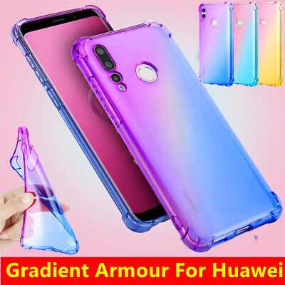 For Huawei P Smart Y7 Y6 2019 Honor 10 Lite Shockproof TPU Case Silicone Cover