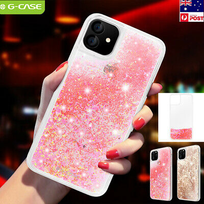 Bling Liquid Quicksand Shockproof Glitter Back Case Cover For iPhone 11 Pro Max