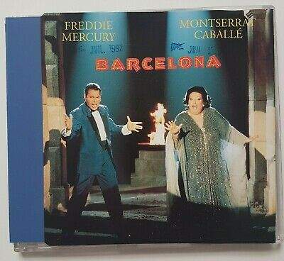"QUEEN // FREDDIE MERCURY : BARCELONA (12"" MIX on MAXI-CD) french edition !"