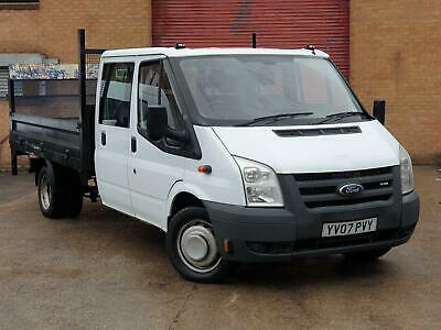 2007 Ford Transit Crewcab Dropside with Taillift