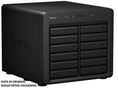 "Synology Expansion Unit DX1215 12-Bay 3.5"" Diskless NAS for Scalable Models SMB"