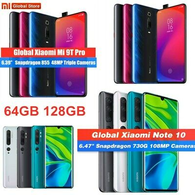 Xiaomi Mi Note 10 / 9T / 9T Pro 64GB 128GB Android Smartphone Global Unlocked UK