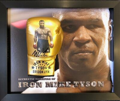 Mike Tyson SIGNED AUTOGRAPH Boxing Glove AFTAL UACC RD