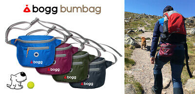 BOGG bumbag Dog walking waist bag Poo bag dispenser waste carrier gift for owner
