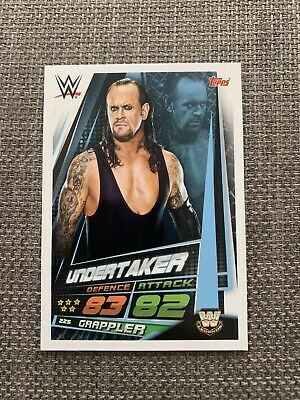 WWE Slam Attax Universe The Undertaker Collectors Card NXT