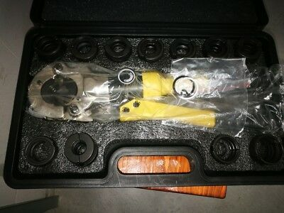 Pipe Crimping tool Dies U TH V M all dies 16-32 Hydraulic Plumbing NEW!