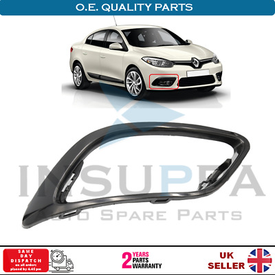 FRONT BUMPER RIGHT FOG LIGHT GRILLE WITH HOLE FOR FIAT PANDA 2012 ON 735537031