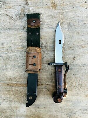 Vintage cold war Bayonet complete w/Wire-Cutting BAKELITE Eastern Block country