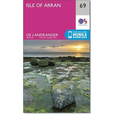 Ordnance Survey Landranger Map 69 Isle of Arran