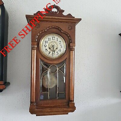 0263 - Antique German  Kienzle  wall clock