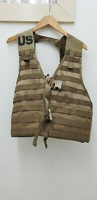 Military Issued Coyote MOLLE II Load Carrying Vest-NEW