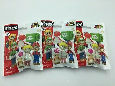 SEALED K/'nex Super Mario Buildable Collectible Figure Blind Bag Series 10