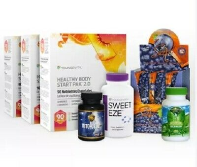 YOUNGEVITY GLOBAL HEALTHY BODY MEGA PAK - Dr WALLACH - 90FORLIFE - FREE SHIPG